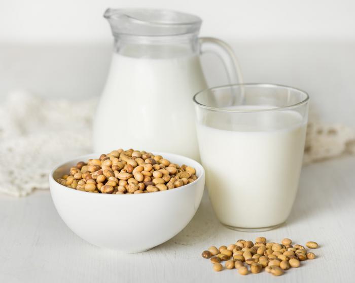 Beneficios de la leche de soja en nuestra dieta