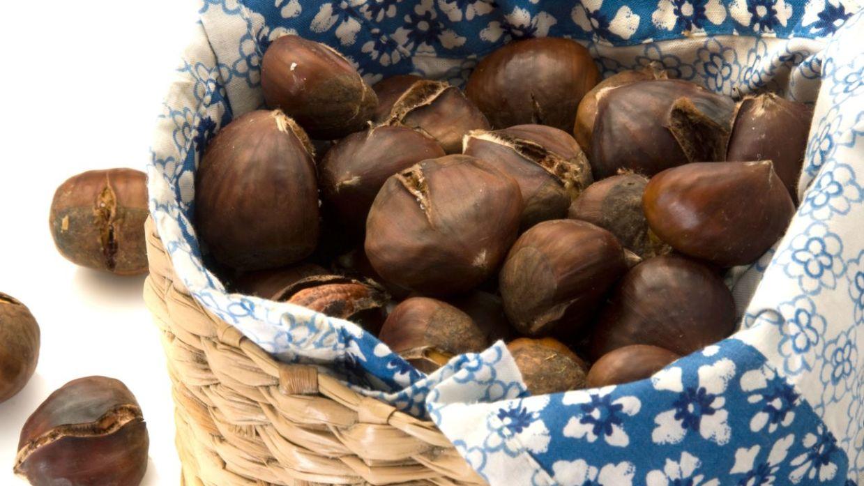 Cinco beneficios de las castañas, el alimento ideal contra el frío